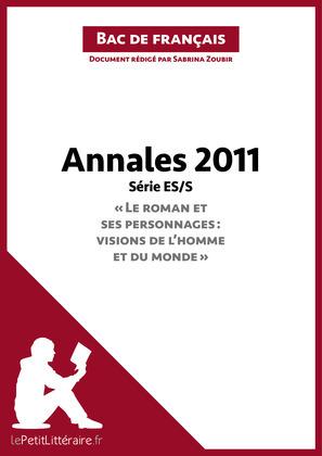 Bac de français 2011 - Annales Série ES/S (Corrigé)