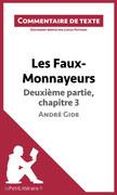 Les Faux-Monnayeurs d'André Gide - Deuxième partie, chapitre 3