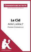 Le Cid de Corneille - Acte I, scène 7