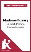 Madame Bovary de Flaubert - La mort d'Emma