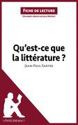 Qu'est-ce que la littérature? de Jean-Paul Sartre (Fiche de lecture)