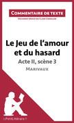 Claire Cornillon - Le Jeu de l'amour et du hasard de Marivaux - Acte II, scène 3