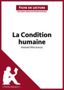 La Condition humaine d'André Malraux (Fiche de lecture)