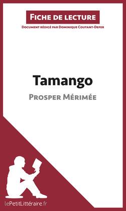 Tamango de Prosper Mérimée (Fiche de lecture)