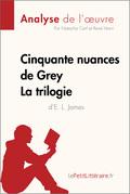 Cinquante nuances de Grey de E. L. James - La trilogie (Fiche de lecture)