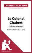 Le Colonel Chabert de Balzac - Dénouement