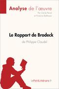 Cécile Perrel - Le Rapport de Brodeck de Philippe Claudel (Fiche de lecture)