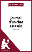 Journal d'un chat assassin de Anne Fine (Fiche de lecture)