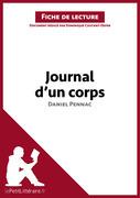 Journal d'un corps de Daniel Pennac (Fiche de lecture)