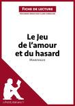 Claire Cornillon - Le Jeu de l'amour et du hasard de Marivaux (Fiche de lecture)