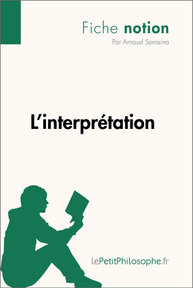 L'interprétation (Fiche notion)