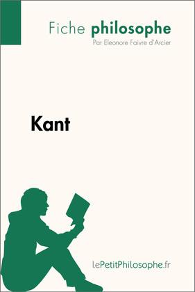 Kant (Fiche philosophe)