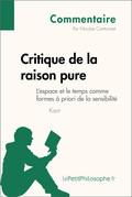 Critique de la raison pure de Kant - L'espace et le temps comme formes à priori de la sensibilité (Commentaire)