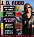 J.D. Robb The IN DEATH Collection Books 6-10