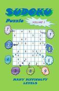 Sudoku Puzzle, Volume 1