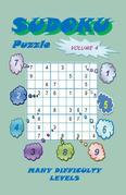 Sudoku Puzzle, Volume 4