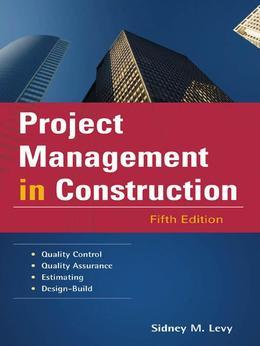 Project Management in Construction 5/E (EBOOK)