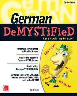German DeMYSTiFieD, Second Edition