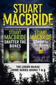 Logan McRae Crime Series Books 7 and 8: Shatter the Bones, Close to the Bone (Logan McRae)
