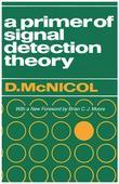 A Primer of Signal Detection Theory