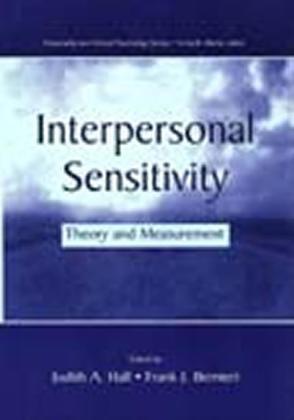 Interpersonal Sensitivity