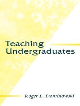 Teaching Undergraduates