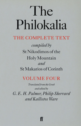 The Philokalia Vol 4