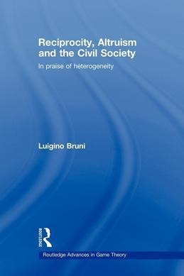 Reciprocity, Altruism and the Civil Society