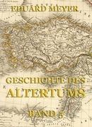 Geschichte des Altertums, Band 5