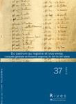 37 | 2010 - Du castrum au registre et vice-versa - Rives