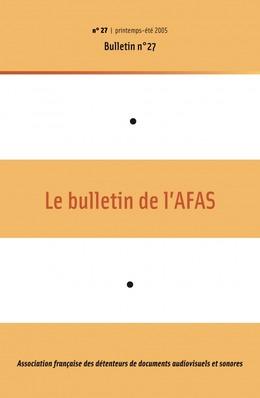 27   2005 - Bulletin n°27 - AFAS