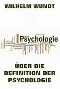 Über die Definition der Psychologie