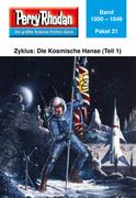 Perry Rhodan-Paket 21: Die Kosmische Hanse (Teil 1)