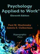 Psychology Applied to Work®, 11th Edition