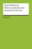 Kleine Geschichte der deutschen Literatur