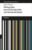 Dialog über personale Identität und Unsterblichkeit