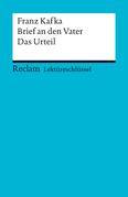 Lektüreschlüssel. Franz Kafka: Brief an den Vater / Das Urteil