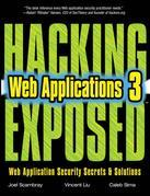 HACKING EXPOSED WEB APPLICATIONS 3/E