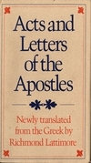 Acts and Letters of the Apostles