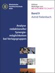 Analyse redaktioneller Synergiemöglichkeiten bei Verlagsgruppen