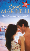 One Summer Night: An Indecent Proposition / Beholden to the Throne / Hers For One Night Only? (Mills & Boon M&B)