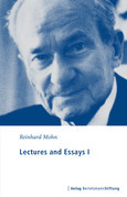 Lectures and Essays I