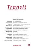 Transit 44. Europäische Revue