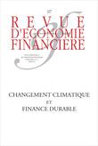 Changement climatique et finance durable