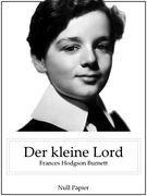 Der kleine Lord (Illustrierte Ausgabe)
