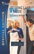 At Long Last, a Bride
