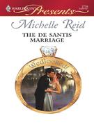 Michelle Reid - The De Santis Marriage