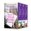 Debbie Macomber's Heart of Texas Series Volume 2