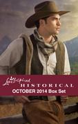 Love Inspired Historical October 2014 Box Set