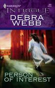Debra Webb - Person of Interest